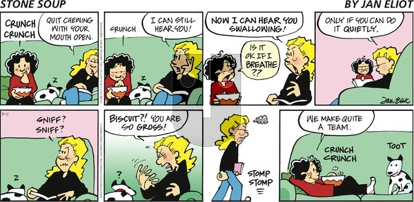 Stone Soup on Sunday March 17, 2019 Comic Strip