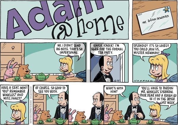 Adam@Home on June 10, 2018 Comic Strip