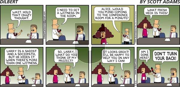 Dilbert on Sunday May 20, 2012 Comic Strip