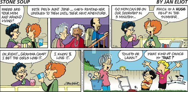 Stone Soup on Sunday July 30, 2017 Comic Strip