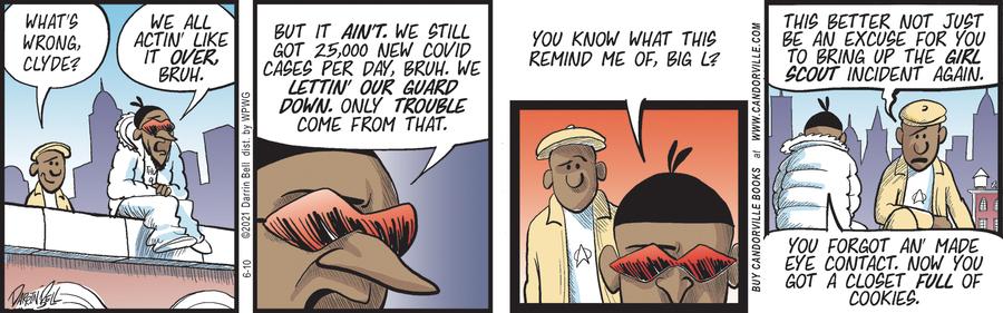 Candorville Comic Strip for June 10, 2021