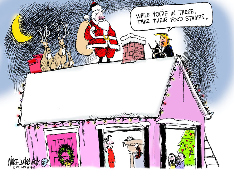 Mike Luckovich Comic Strip for December 08, 2019