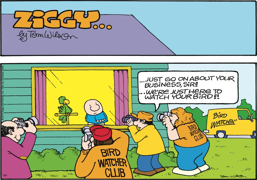 Ziggy Comic Strip for July 26, 2015