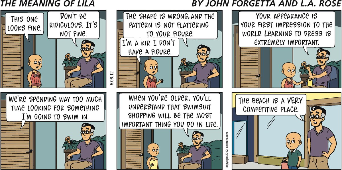 The Meaning of Lila for May 6, 2012 Comic Strip
