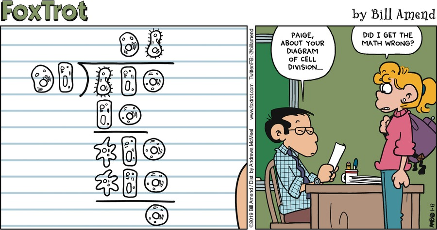 FoxTrot Comic Strip for January 13, 2019