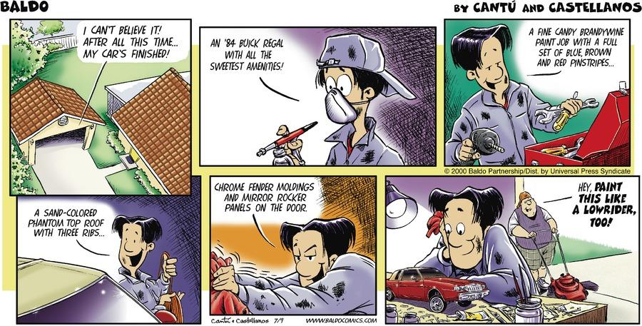 Baldo for Jul 9, 2000 Comic Strip
