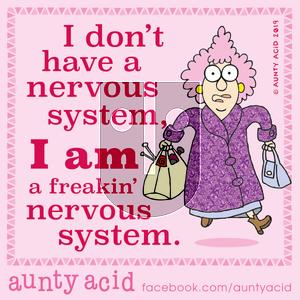 Aunty Acid - Saturday November 2, 2019 Comic Strip