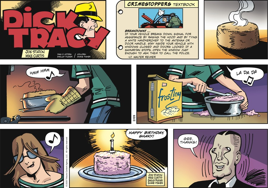 Dick Tracy Comic Strip for February 09, 2020