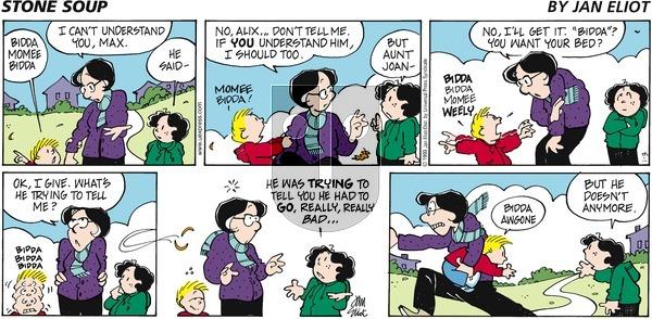 Stone Soup on Sunday January 3, 1999 Comic Strip