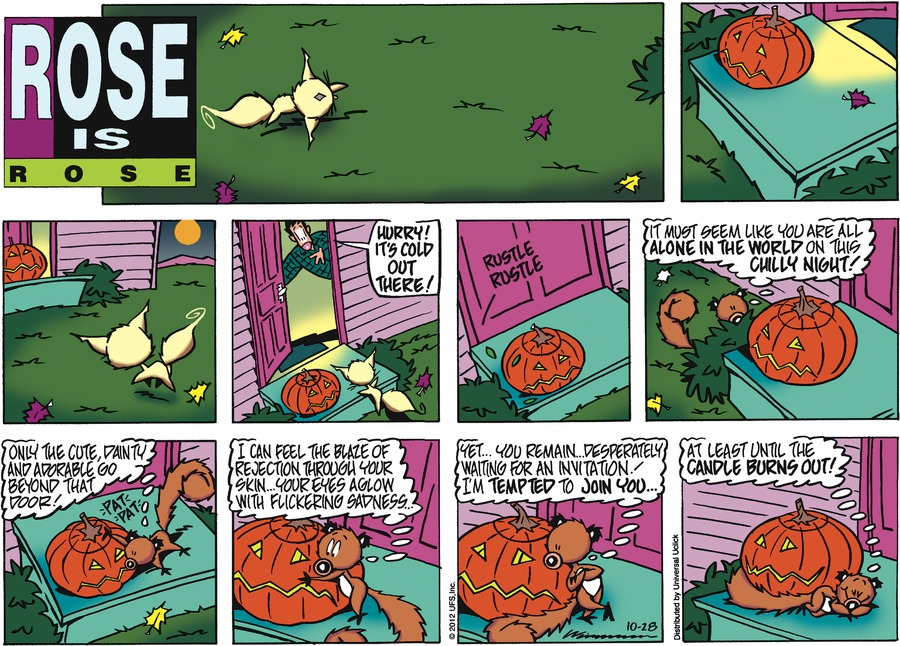 Rose is Rose Comic Strip for October 28, 2012