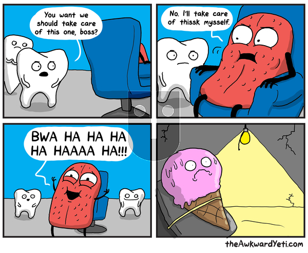 The Awkward Yeti on Monday September 30, 2019 Comic Strip