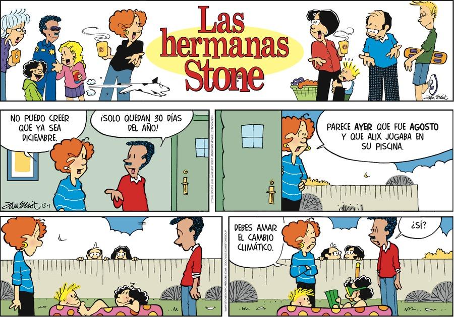 Las Hermanas Stone Comic Strip for December 01, 2019