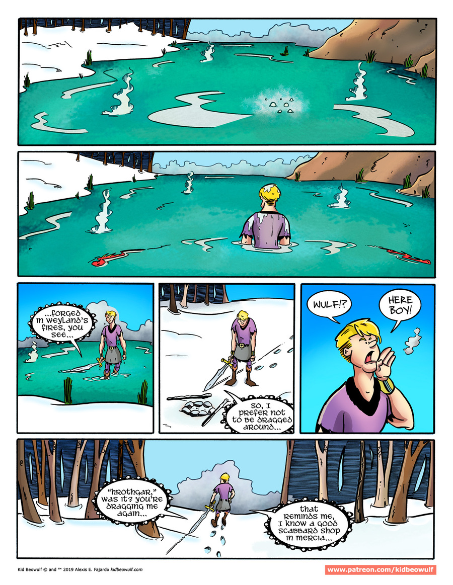 Kid Beowulf by Alexis E. Fajardo for April 01, 2019