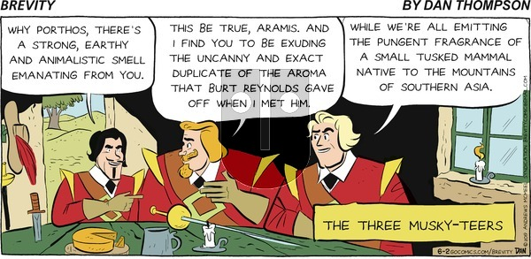 Brevity on Sunday June 2, 2019 Comic Strip