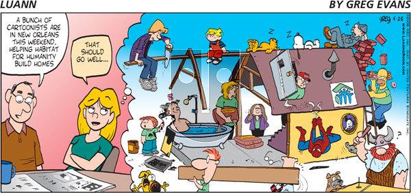 Luann on Sunday May 25, 2008 Comic Strip