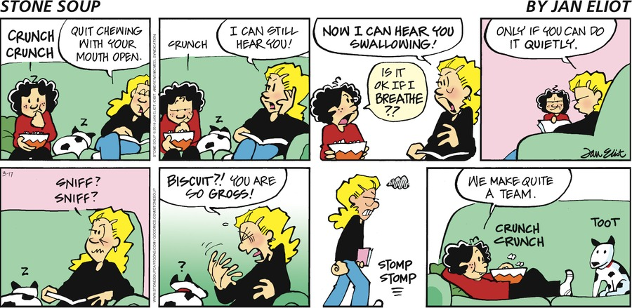 Stone Soup Comic Strip for March 17, 2019