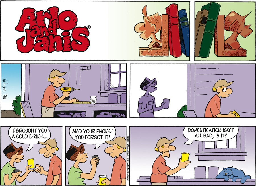 Arlo and Janis Comic Strip for July 18, 2021