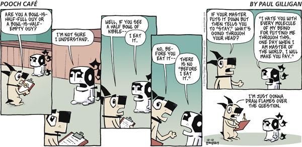 Pooch Cafe Comic Strip for December 12, 2010