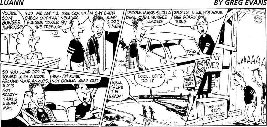 Luann Againn by Greg Evans on Sun, 10 Oct 2021