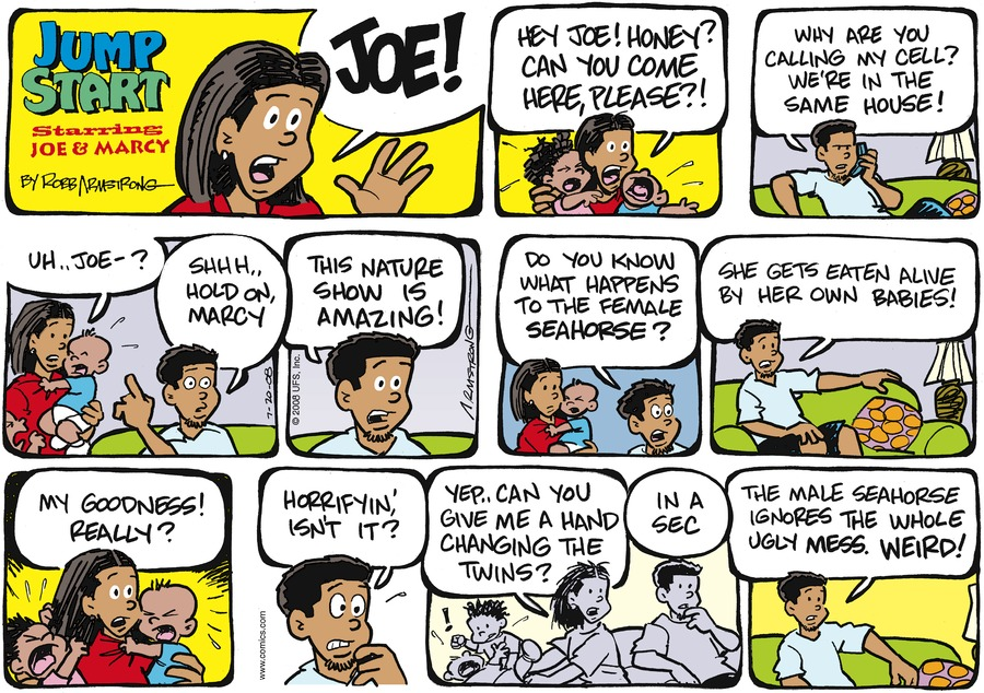 JumpStart Comic Strip for July 20, 2008