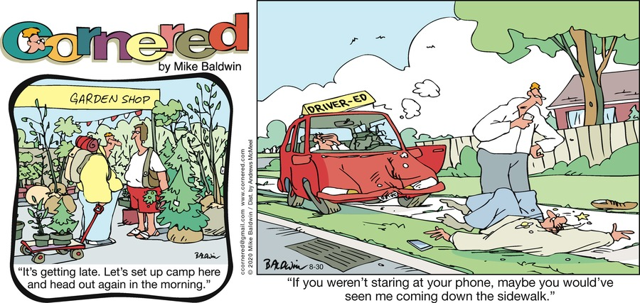 Cornered Comic Strip for August 30, 2020