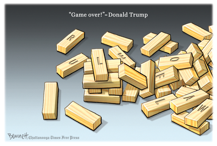 Clay Bennett Comic Strip for April 20, 2019