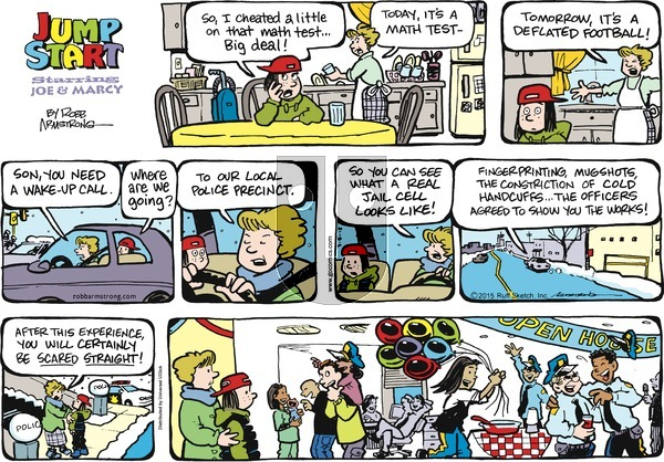 JumpStart on Sunday March 8, 2015 Comic Strip