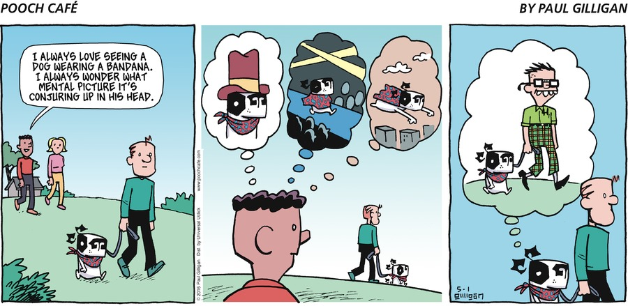 Pooch Cafe Comic Strip for May 01, 2016