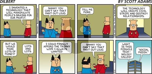 Dilbert - Sunday August 1, 2021 Comic Strip