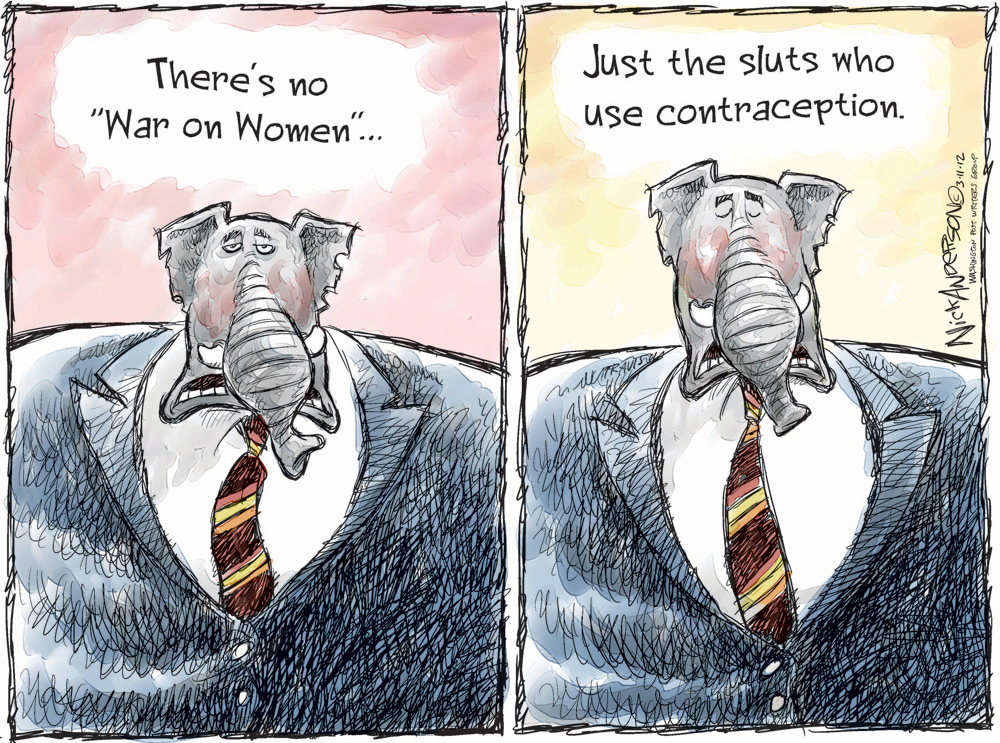 Nick Anderson Comic Strip for March 15, 2012