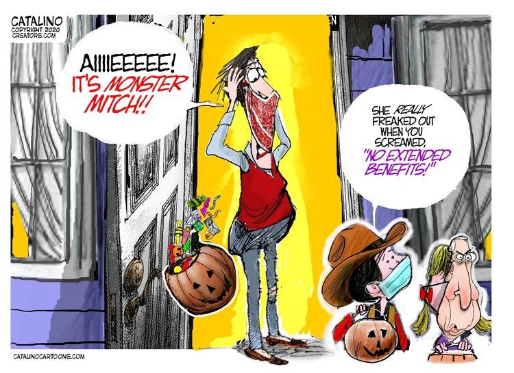 Ken Catalino Comic Strip for October 27, 2020
