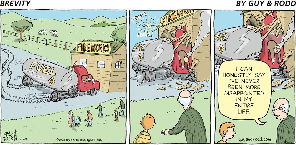 Brevity Comic Strip for December 28, 2008