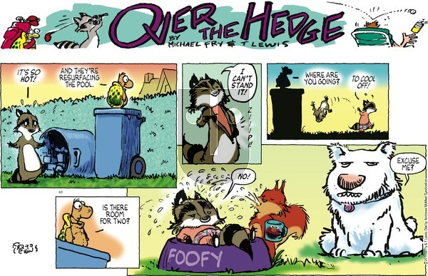 Over the Hedge - Sunday August 2, 2020 Comic Strip