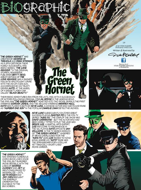 Biographic Comic Strip for January 09, 2011