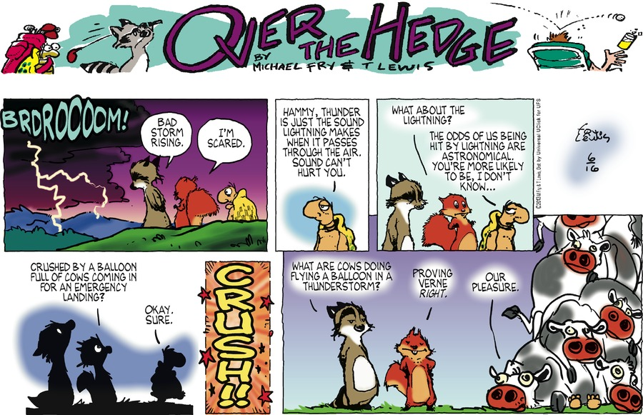 Over the Hedge for Jun 16, 2013 Comic Strip