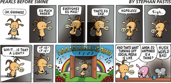 Pearls Before Swine on Sunday June 2, 2019 Comic Strip