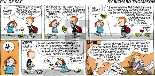 Cul de Sac on Sunday July 3, 2016 Comic Strip