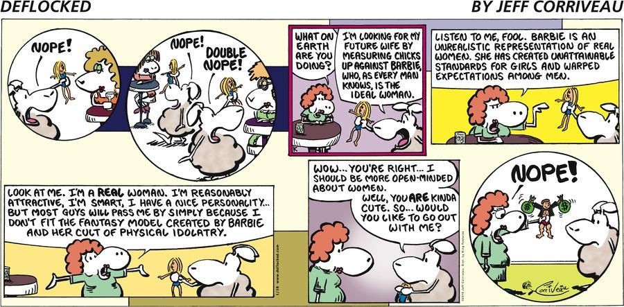DeFlocked for Jan 18, 2015 Comic Strip