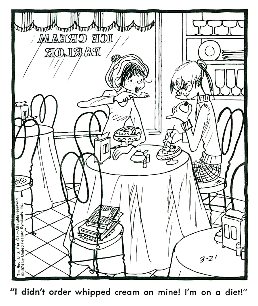 Emmy Lou for Oct 29, 2013 Comic Strip