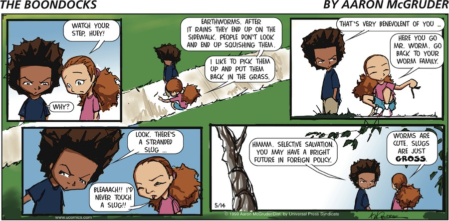 The Boondocks Comic Strip for July 25, 2021