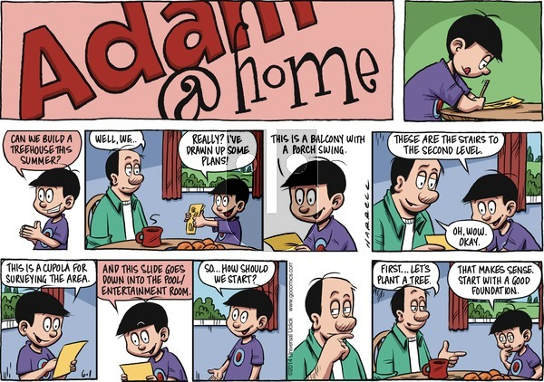 Adam@Home on Sunday June 1, 2014 Comic Strip
