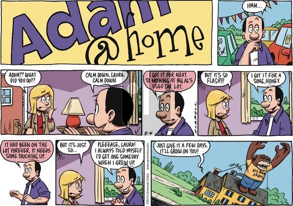 Adam@Home on Sunday May 4, 2014 Comic Strip