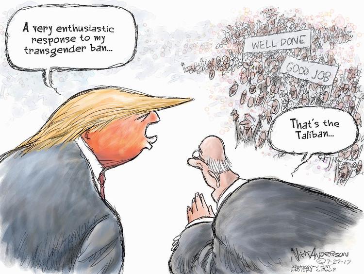 Nick Anderson for Jul 27, 2017 Comic Strip