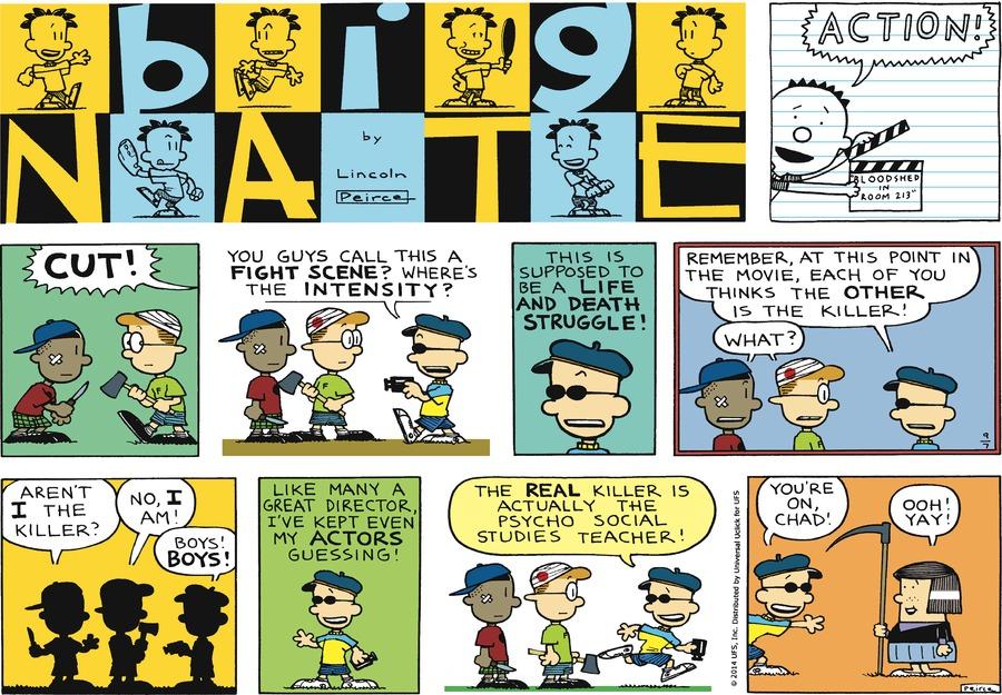 Big Nate Comic Strip for September 07, 2014