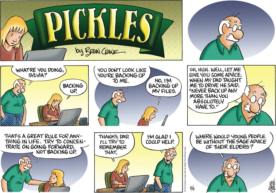 Pickles Comic Strip for August 04, 2013