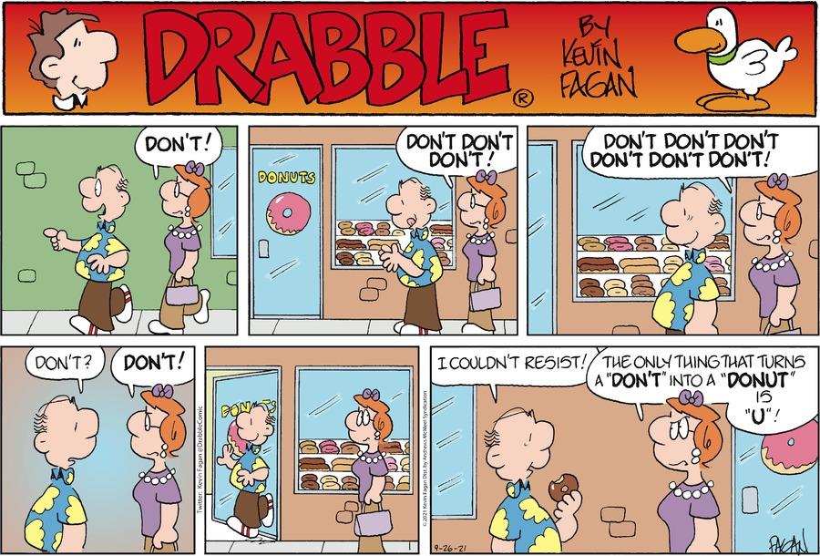 Drabble Comic Strip for September 26, 2021