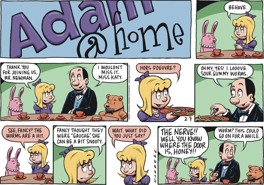 Adam@Home by Rob Harrell on Sun, 07 Feb 2021