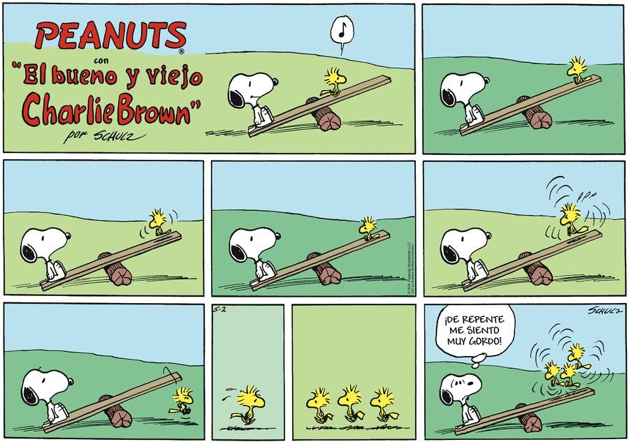 Snoopy en Español by Charles Schulz on Sun, 02 May 2021