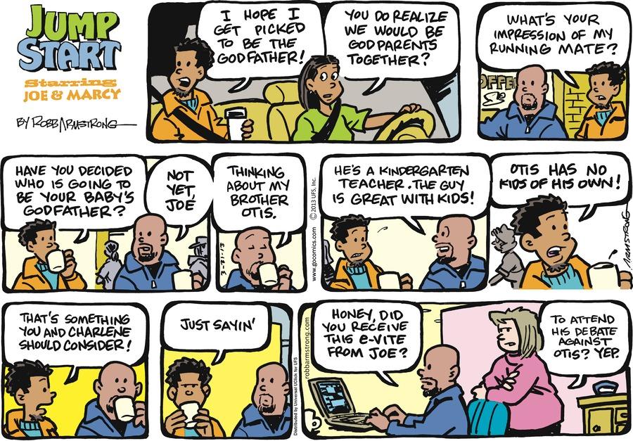 JumpStart for Mar 31, 2013 Comic Strip