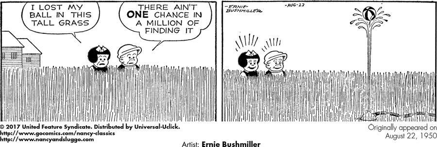 Nancy Classics Comic Strip for November 12, 2017